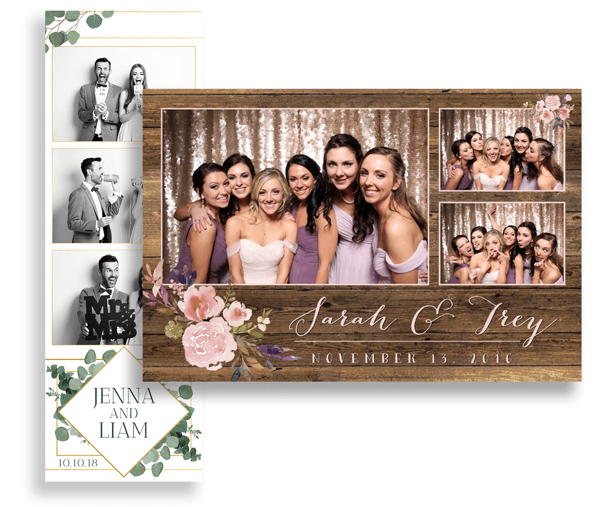 Group pose for photo booth print