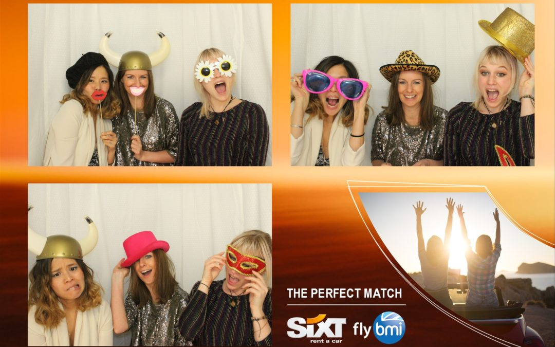Branded Photo Booth For Sixt Rent a Car