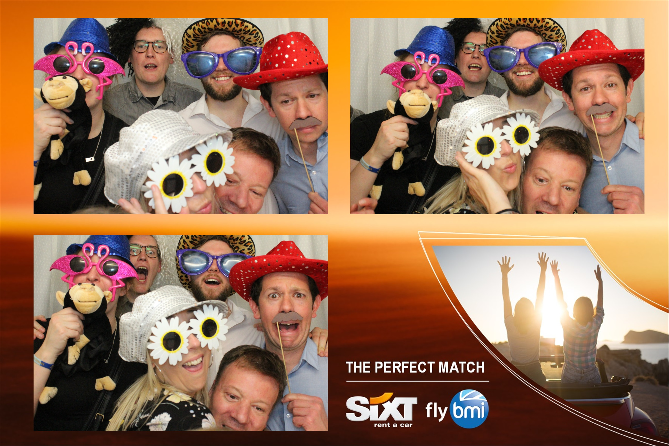 Sixt Corporate Photo Booth Hire