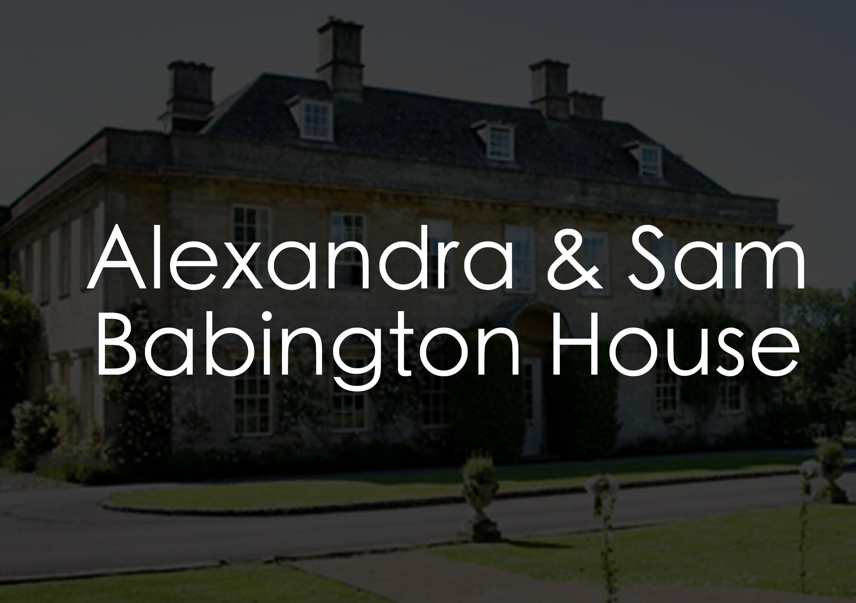 GIF Photo Booth Somerset | Alexandra & Sam | Babington House Wedding
